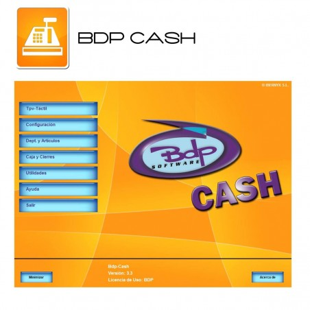 Software BDP CASH MASTER