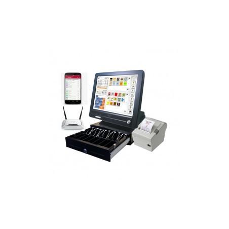 Pack tpv segunda mano con 2 PDAs y 2 Impresoras