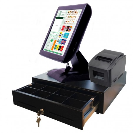 Pack TPV Táctil Tallas y color con etiquetadora y lector