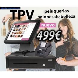 Pack TPV Táctil Peluquerías...