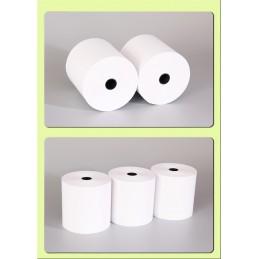 8 rollos papel térmico 80x80